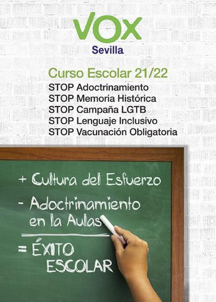 Campaña Stop Adoctrinamiento